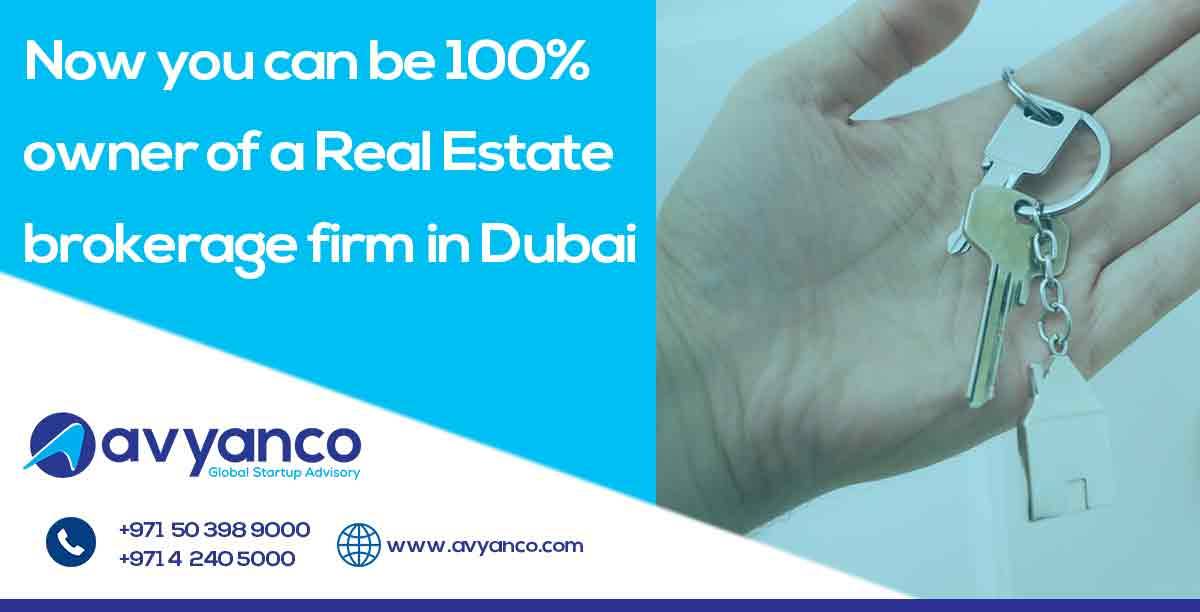 Own 100% Share for your Real Estate Brokerage Firm