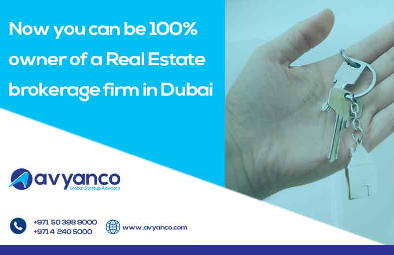 100% Ownership for Real Estate Company