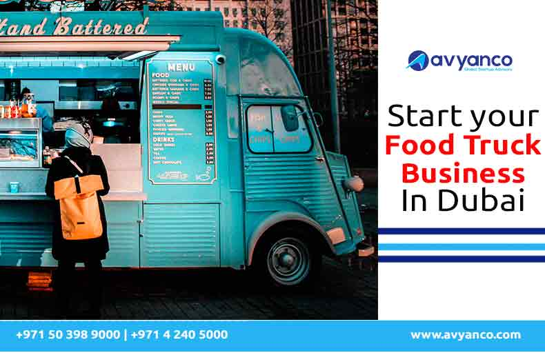 start your food truck business license