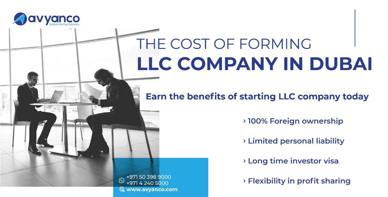 cost of llc company in dubai