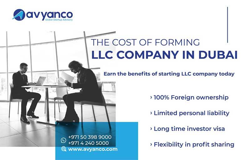 LLc Company in Dubai costing