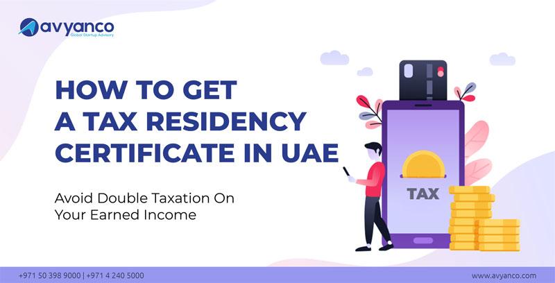 Tax Residence Certificate in UAE